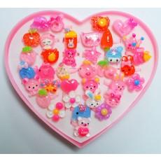 신상품 플라스틱링 반지(3)